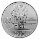 1995-D Olympic Cycling $1 Silver Commem BU (w/Box & COA)
