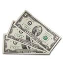 1995 (F-Atlanta) $2.00 FRN CU (3 Consecutive Notes)