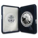 1995-P 1 oz Proof Silver American Eagle (w/Box & COA)