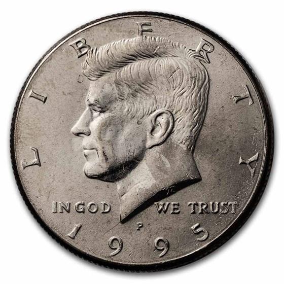 1995-P Kennedy Half Dollar BU