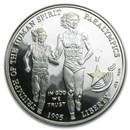 1995-P Olympic Blind Runner $1 Silver Commem Proof (Capsule Only)