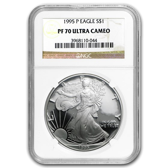 1995-P Proof American Silver Eagle PF-70 NGC