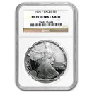 1995-P Proof Silver American Eagle PF-70 NGC