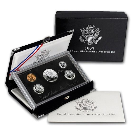 1995 Premier Silver Proof Set