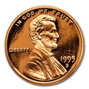 1995-S Lincoln Cent Gem Proof (Red)