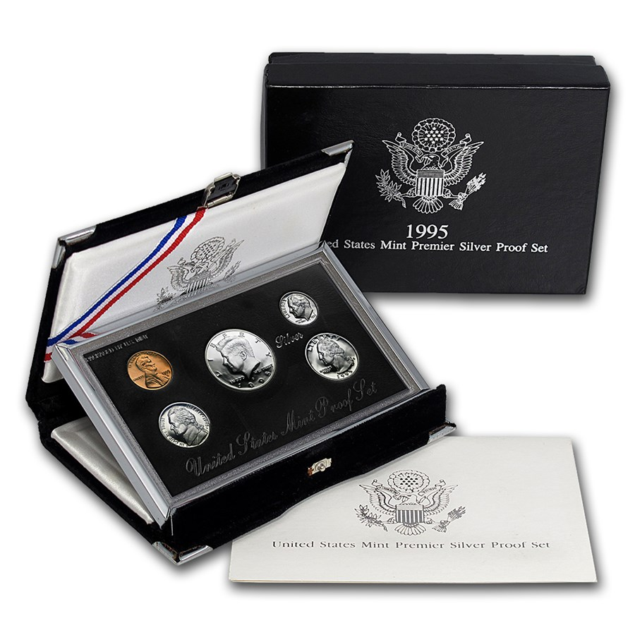 1995-S Premier Silver Proof Set