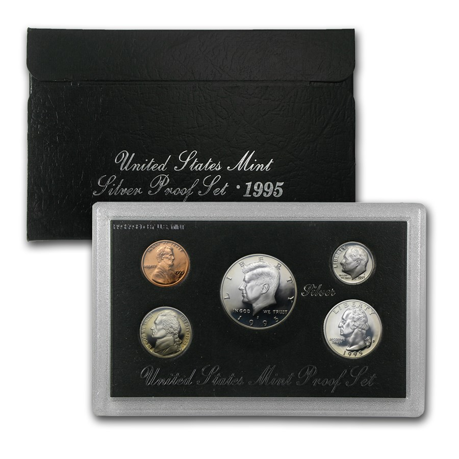 1995-S Silver Proof Set