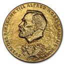 1995 Sweden Silver Medal Alfred Nobel SP-69 PCGS (Economics)