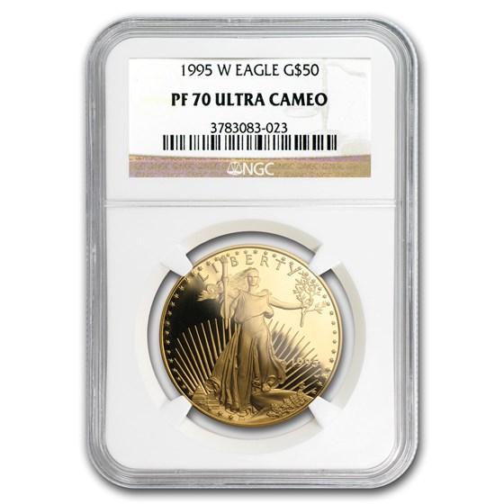 1995-W 1 oz Proof Gold American Eagle PF-70 NGC