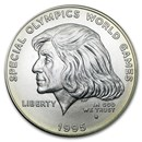 1995-W Special Olympics $1 Silver Commem BU (Capsule only)