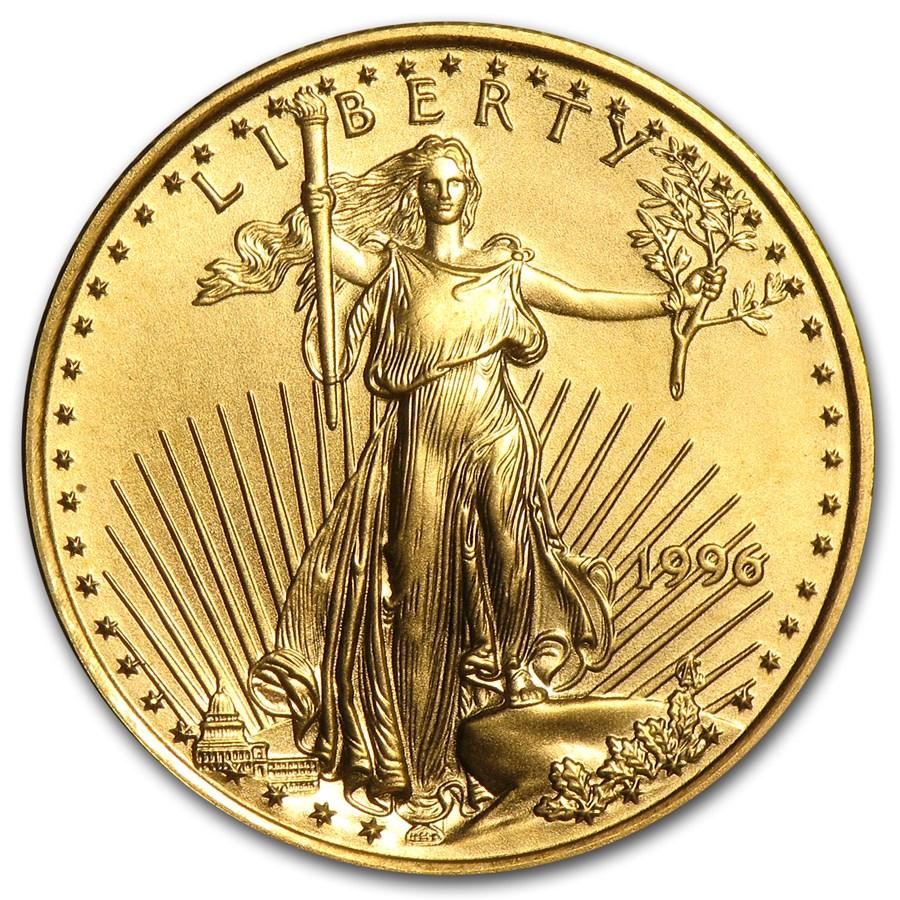 1996 1/4 oz American Gold Eagle BU
