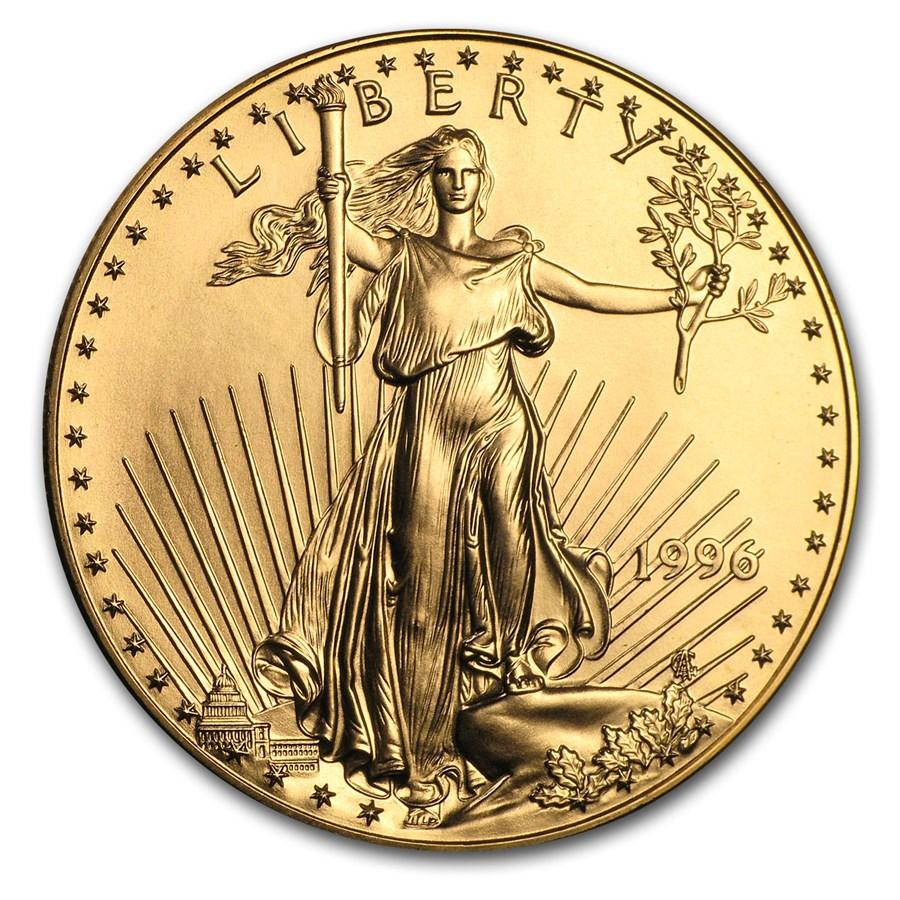 1996 1 oz American Gold Eagle BU