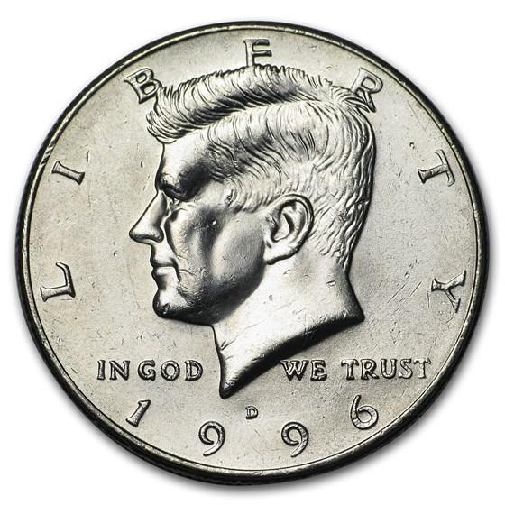1996-D Kennedy Half Dollar BU