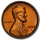 1996-D Lincoln Cent BU (Red)