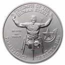1996-D Paralympic $1 Silver Commem BU (w/Box & COA)