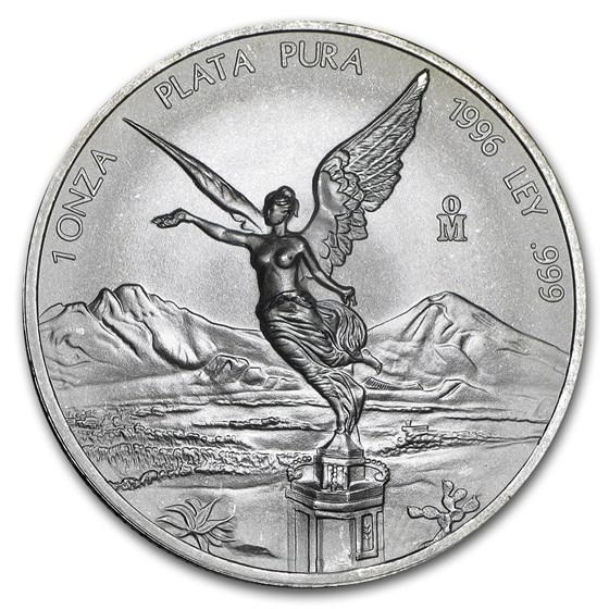 1996 Mexico 1 oz Silver Libertad BU