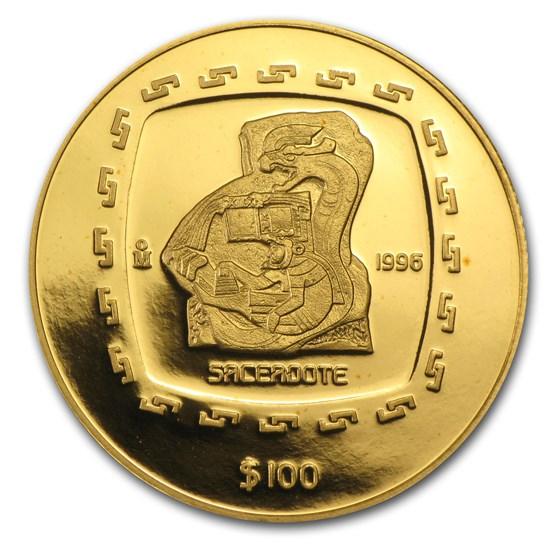 1996 Mexico Gold 100 Pesos Sacerdote Proof