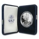 1996-P 1 oz Proof Silver American Eagle (w/Box & COA)