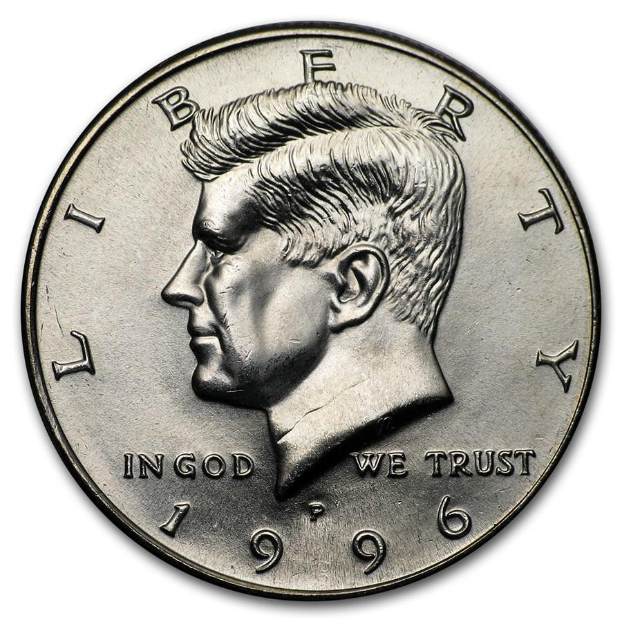 1996-P Kennedy Half Dollar BU