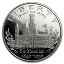 1996-P Smithsonian $1 Silver Commem Proof (Capsule Only)
