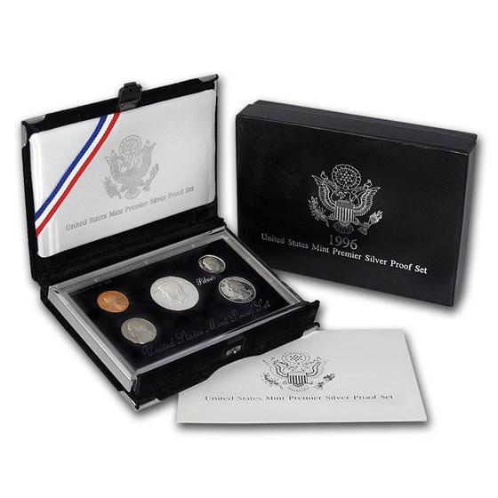 1996 Premier Silver Proof Set