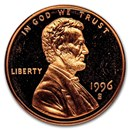 1996-S Lincoln Cent Gem Proof (Red)