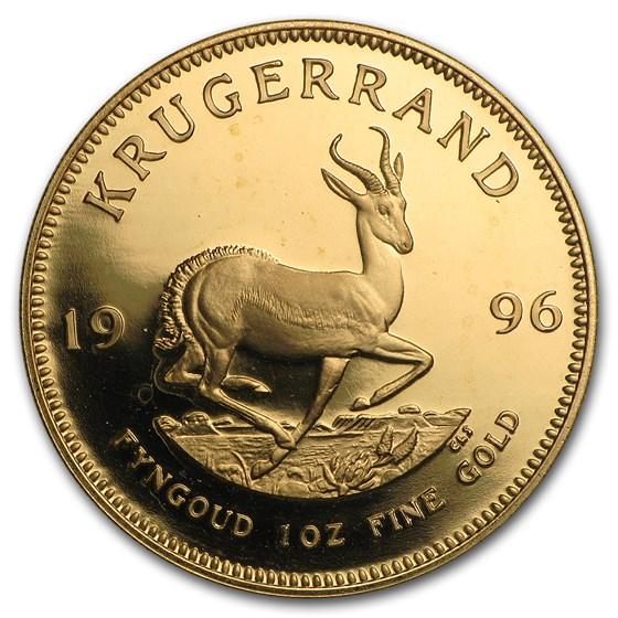 1996 South Africa 1 oz Proof Gold Krugerrand