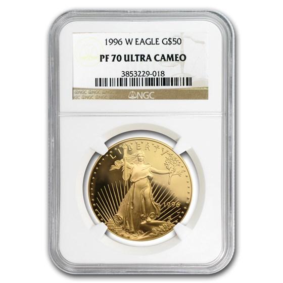 1996-W 1 oz Proof American Gold Eagle PF-70 UCAM NGC