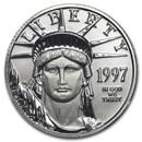 1997 1/4 oz American Platinum Eagle BU