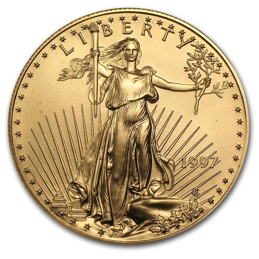 Buy 1997 1 Oz American Gold Eagle Bu Apmex
