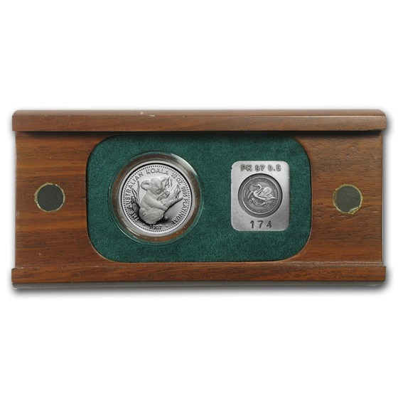1997 Australia 1/2 oz Proof Platinum Koala (w/Box)