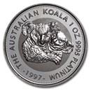 1997 Australia 1 oz Platinum Koala BU