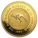 1997 Australia 10 oz Gold Nugget BU