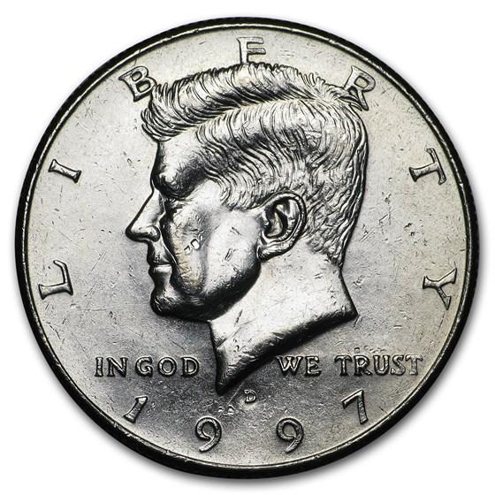 1997-D Kennedy Half Dollar BU