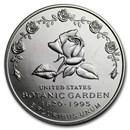 1997-P Botanical Garden $1 Silver Commem BU (w/Box & COA)