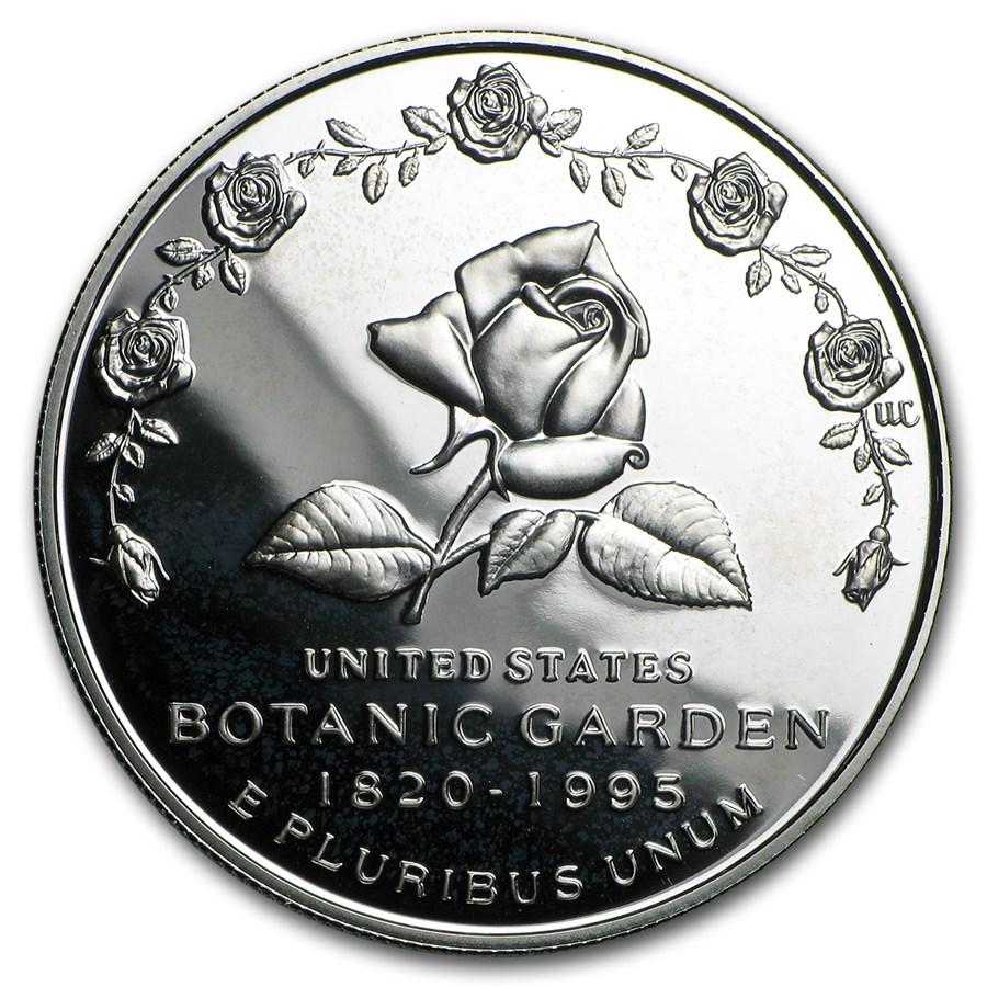 1997-P Botanical Garden $1 Silver Commem Proof (w/Box & COA)
