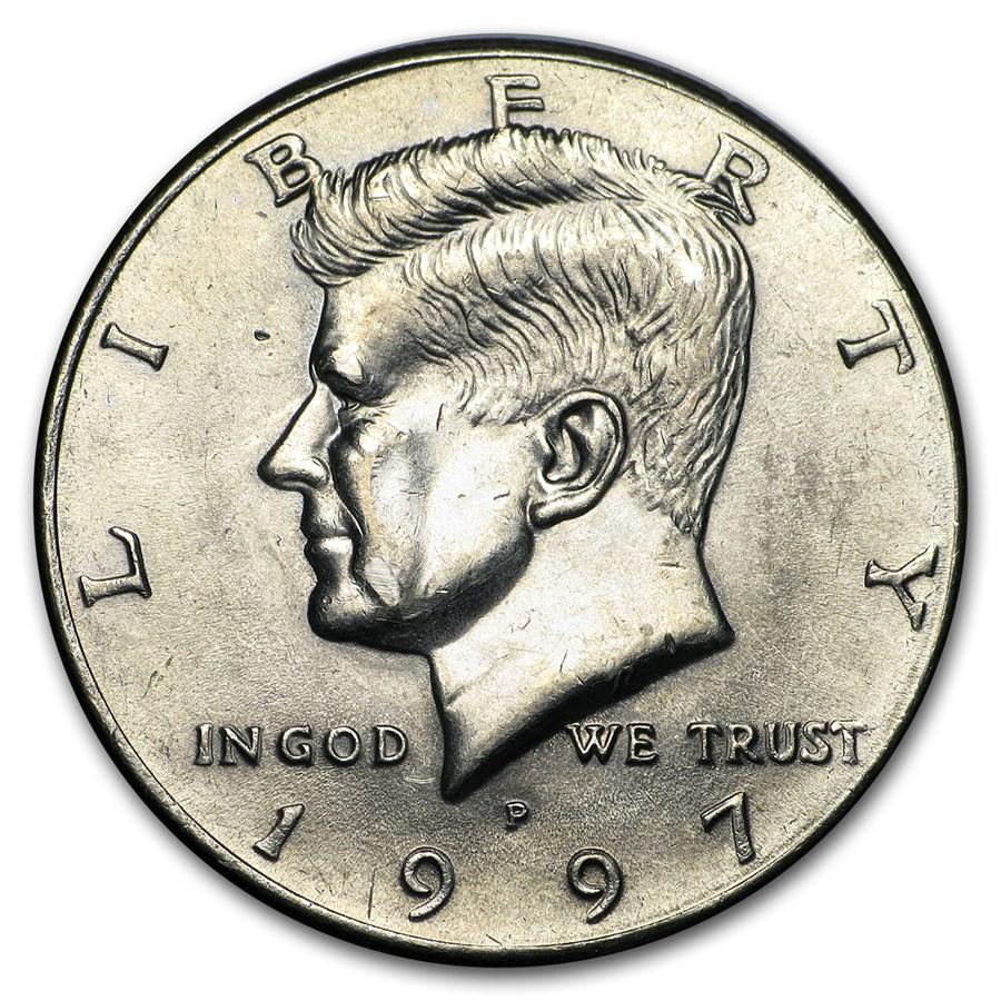 1997-P Kennedy Half Dollar BU