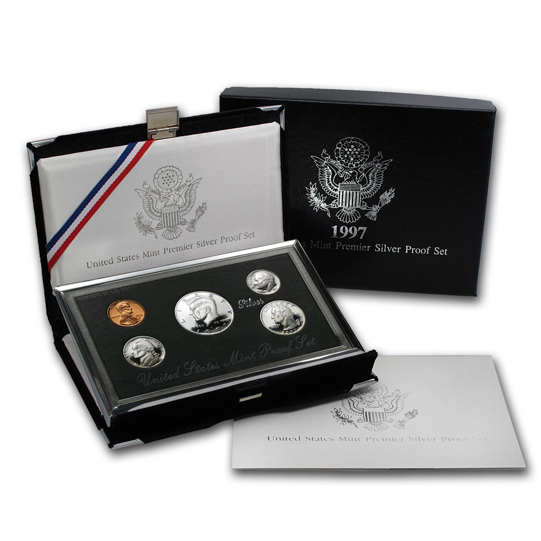 Mint Premier Silver Proof Set 1993 U.S