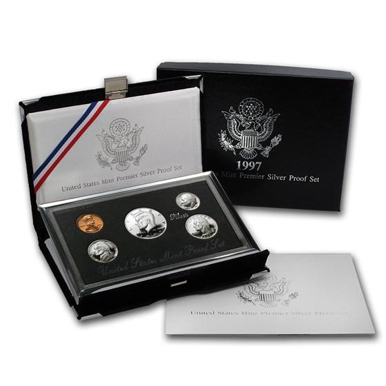1997-S Premier Silver Proof Set