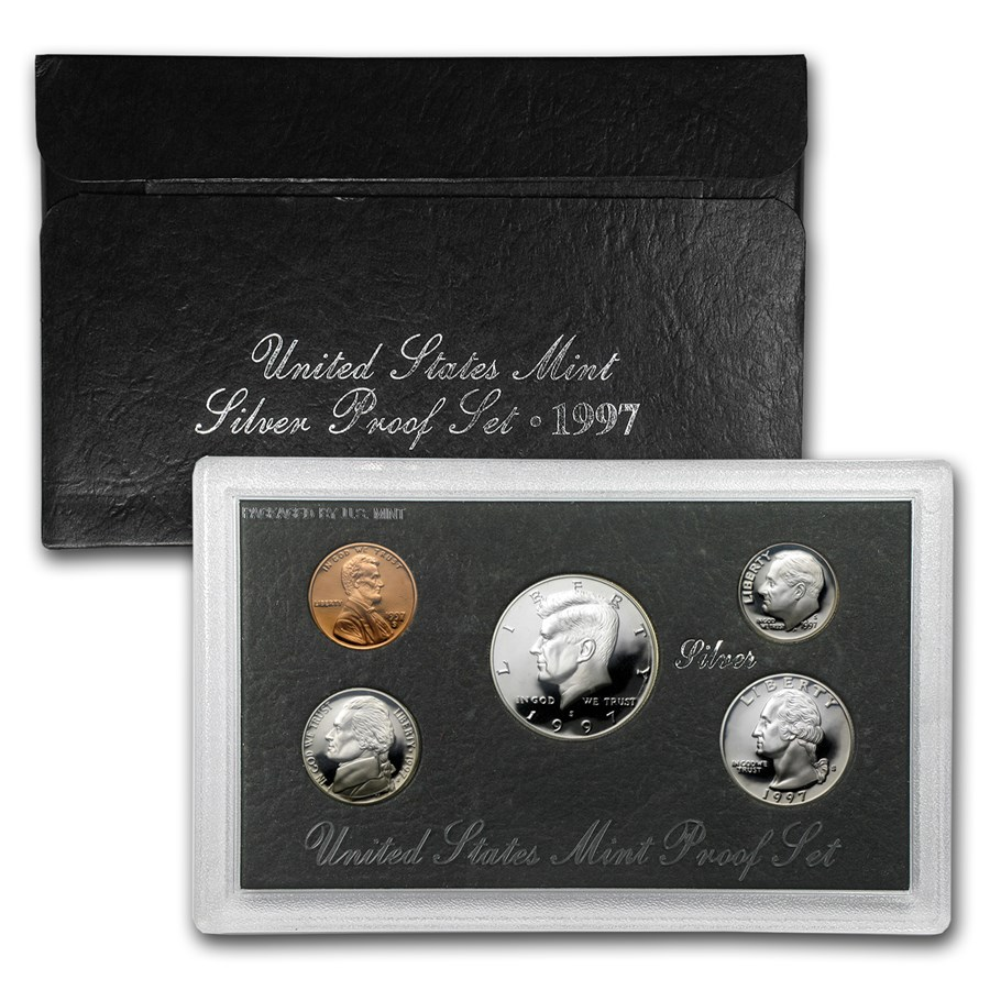 1997-S Silver Proof Set