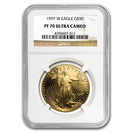 1997-W 1 oz Proof American Gold Eagle PF-70 NGC