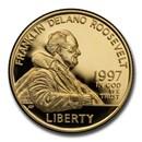 1997-W Gold $5 Commem Franklin D. Roosevelt Proof (Capsule only)