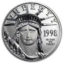 1998 1/2 oz American Platinum Eagle BU
