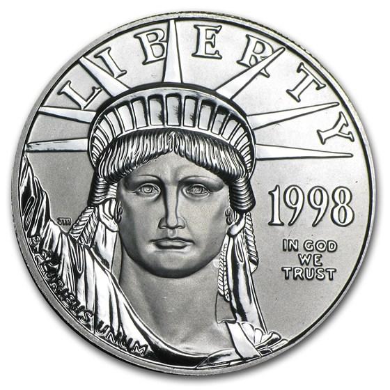 1998 1 oz American Platinum Eagle BU