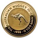 1998 Australia 10 oz Gold Nugget BU