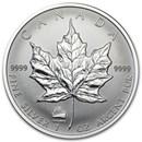 1998 Canada 1 oz Silver Maple Leaf Titanic Privy