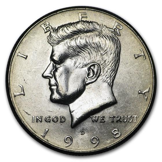 1998-D Kennedy Half Dollar BU