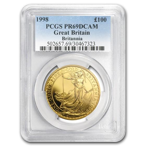 1998 Great Britain 1 oz Gold Britannia PR-69 PCGS