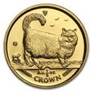 1998 Isle of Man 1/5 oz Gold Birman Cat