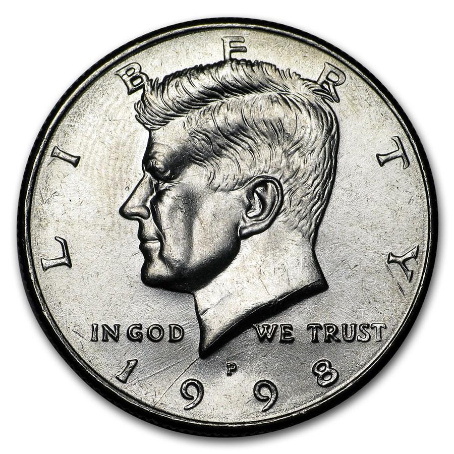 1998-P Kennedy Half Dollar BU